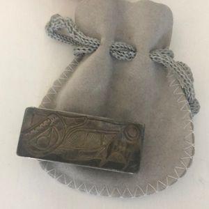💵 Silver money clip
